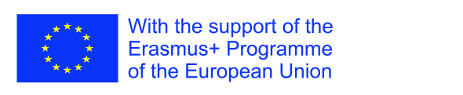 With the support of the Erasmus+